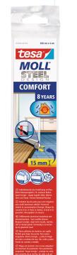 Comfort Door-to-floor Brush TESAMOLL stainless-steel 1m x 40mm x 15mm