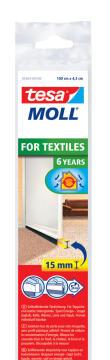 For Textiles Door-to-floor Brush TESAMOLL white 1m x 43mm x 15mm