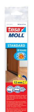 Standard Door-to-floor Brush TESAMOLL brown 1m x 37mm x 12mm