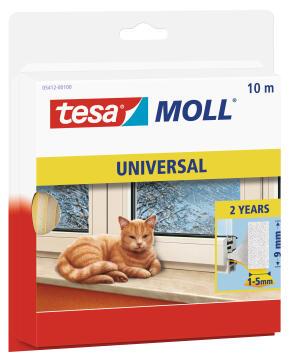 Universal foam TESAMOLL white 10m x 9mm x 6mm
