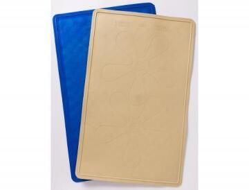 Bath and shower pvc mat blue 56cmx35cm