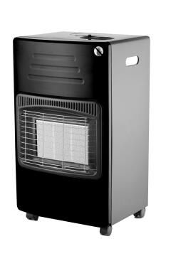 Gas Heater Rollabout TOTAI 3 Panel Black