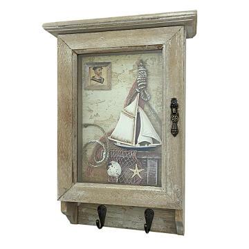 Decorative key holder sail ship 6 keys 1st price