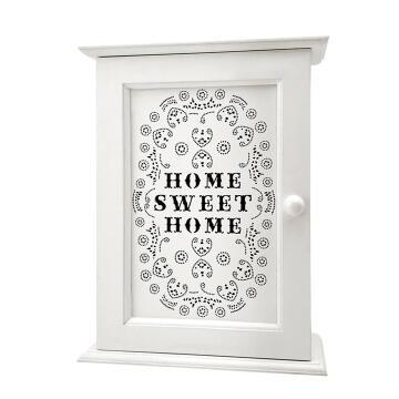 Decorative key holder home sweet home 8 keys 1st price