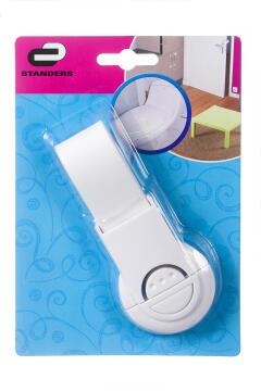 Toilet seat lock white standers