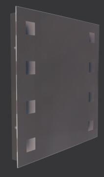 Mirror led square 600X600