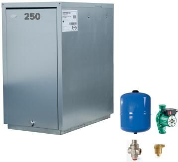Amber Oil Boiler for 250 SQR Meter