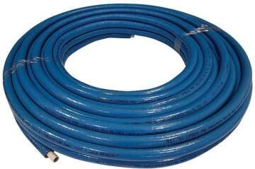 Pex pipe alpex 16 x 2 blue insulation 50m