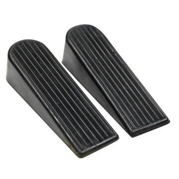 Door wedge rubber carded 2pc cabinet shop