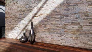 Cladding Stack Stone Blend 410x185mm (0.91m2/box)