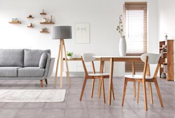 Floor Tile Ceramic Lethabo Grey 350x350mm (2.00m2/box)