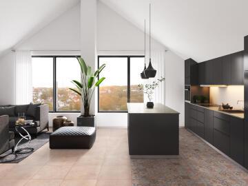 Floor Tile Ceramic Manhattan Beige 500x500mm (2m2/box)
