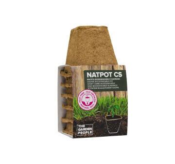 Natpot 8Cm Square Set 4U