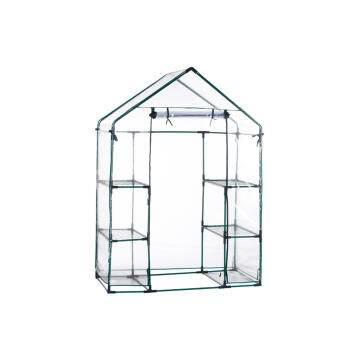 Greenhouse, Walk-in Greenhouse, 4 Shelves, NATCARE, 143x73x195cm