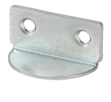 Shelf support galvanised 40x19mm vormann