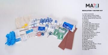 First aid refill kit safeco maxi regulation 7
