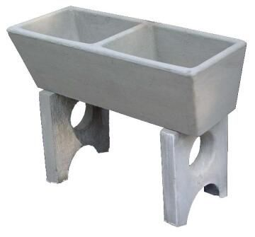 Double Wash Trough Concrete