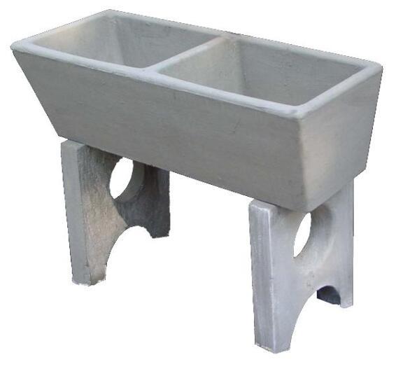 Double Wash Trough Concrete