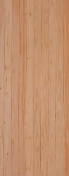 Service Door Pine Vertical Slats with Finger Joints-w813xh2032mm
