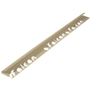 Round Edge PVC Light Brown 9mm (2.4m)