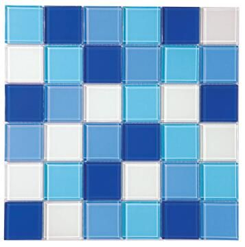 Mosaic Glass Tile Horizon Mix 300x300mm