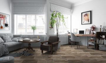 Floor Tile Ceramic Birch Wood 25x50cm (1.21m2)