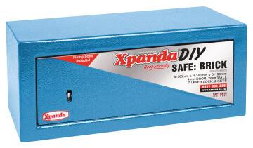 Safti-box brick blue xpanda