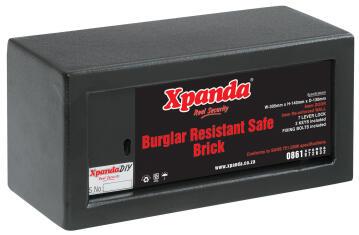 Safe buglar resistant brick xpanda