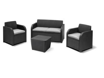 Novara Set A 4 Pieces Relax Set Resin Wicker