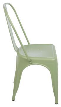 Chair Steel Soho Green Matt