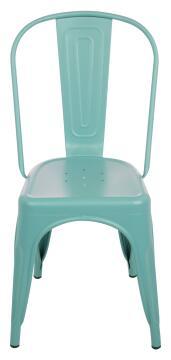 Chair Steel Soho Blue Matt
