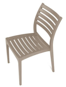 Rimini Side Chair Solid Seat