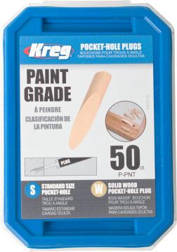 Paint Grade Wooden Plugs 50 pieces KREG