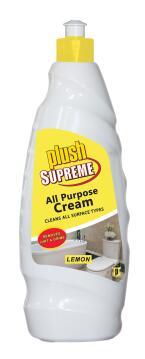 All purpose cream PLUSH SUPREME lemon 750ml
