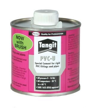 Tangit Pvc-U 250 Ml Tin + Brush X 20