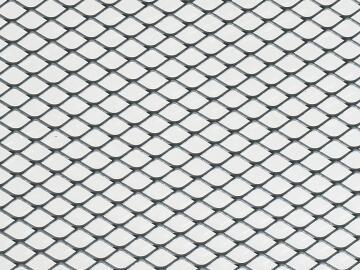 Metal sheet stretched steel 1000x300 16x8x0.8mm arcansas