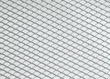 Metal sheet stretched steel 100x40 10x5.5x0.5mm arcansas