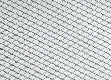 Metal sheet stretched aluminium 10x5.5x1.5mm arcansas