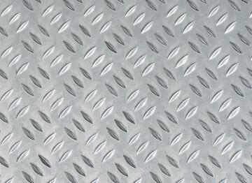 Metal sheet rice grain aluminium 500x250x1.5mm arcansas