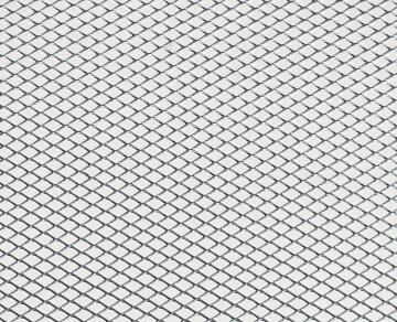 Metal sheet stretched steel 50x40 6x3.3x0.5mm arcansas