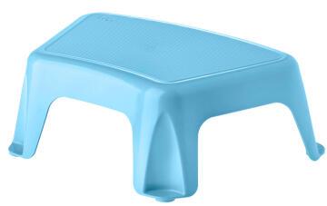 Plastic stool blue rengro 14cm