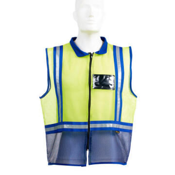 Safety Reflective Vest Dromex Yellow & Blue Size Large
