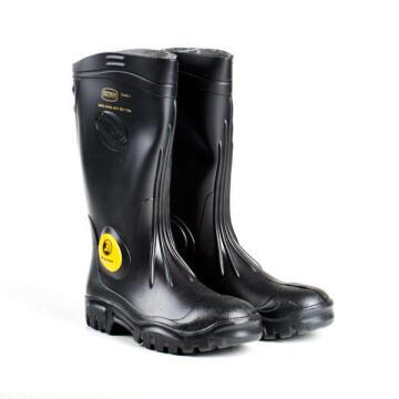Gumboot Dromex Sb Black Unisex Steel Toe Cap Size 7