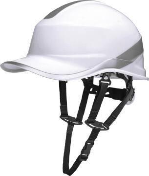 Safety Hat Baseball Shape White