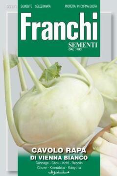 Seed Kohlrabi/Di Vienna Bianco