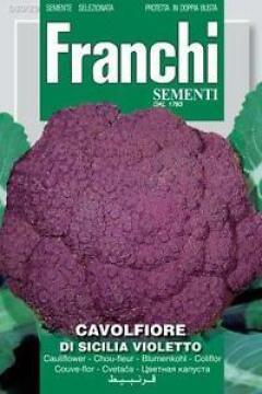 Seed Cauliflower/Di Sicilia Violetto
