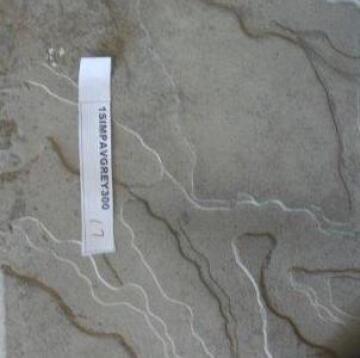 Paver Wild Coast Simulated Stone 300 mm Square Cement Grey