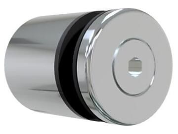Balustrade Stand Off Stainless Steel Sidemount without Rod for Glass from 12 up to 15mm thick-50.8mm diameter