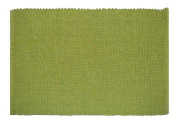 Bath mat woven cotton SENSEA Bubble2 green 50X80CM