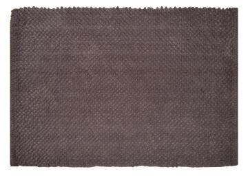 Bath mat cotton SENSEA Bubble2 Brown 50x80cm